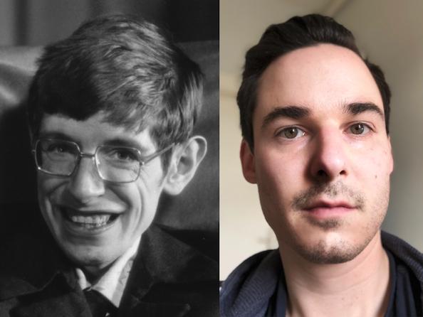 Stephen Hawking und ich
