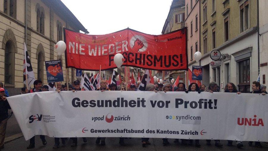 «Gesundheit vor Profit!» Über politische 1. Mai-Slogans und ihre Wirkung